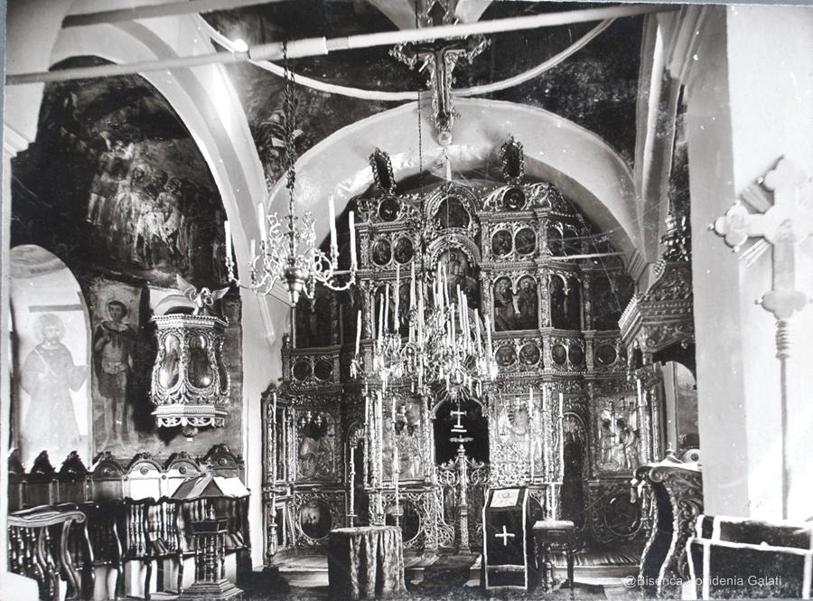 Biserica Vovidenia - interior