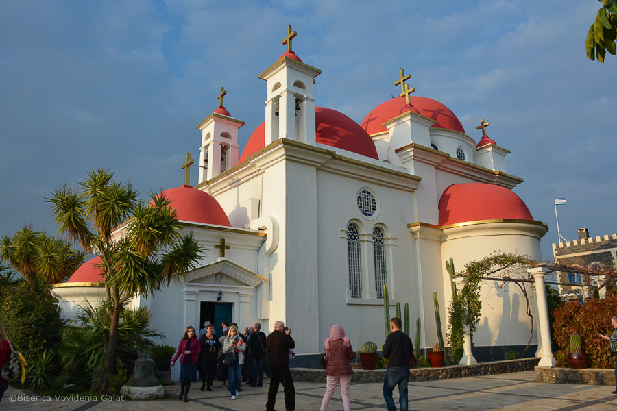 biserica ortodoxa capernaum