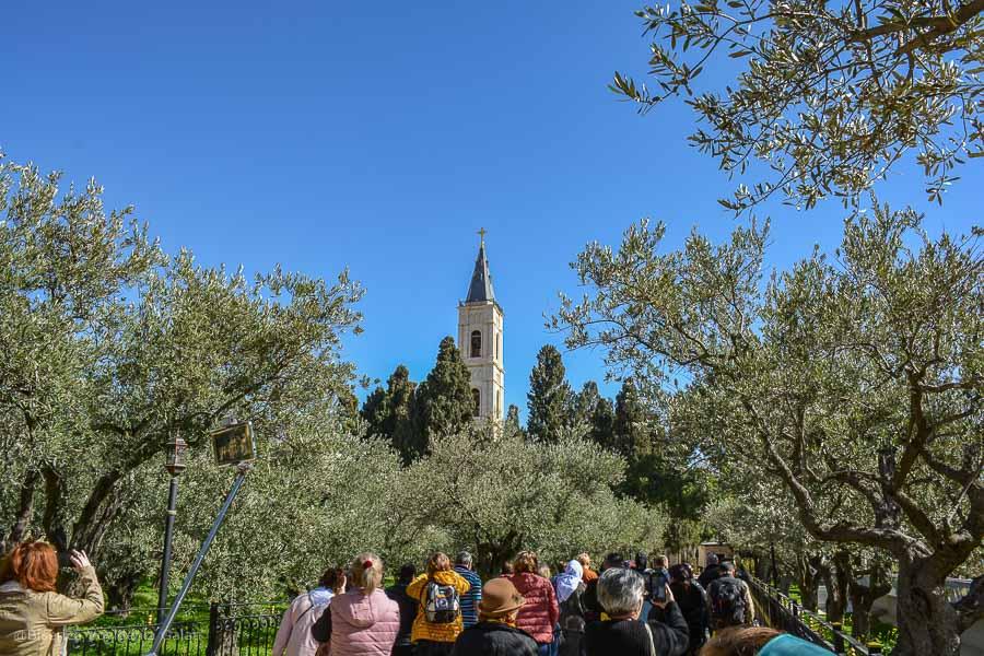 manastirea ortodoxa muntele maslinilor