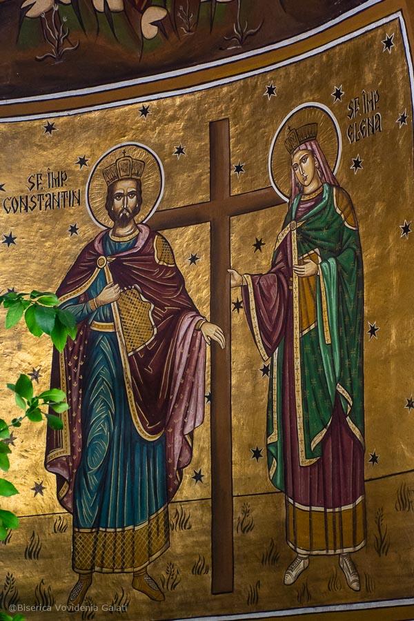 Pictura Sf Constantin si Elena
